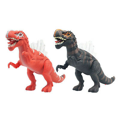 Kids Toy Walking Dinosaur Spinosaurus Action Figure Moving Lights Sounds Roars