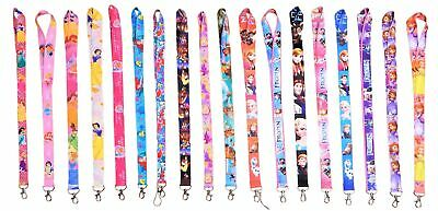 Princess Disney Parks Lanyards with Clip - ID / Badge Holder ~ Brand NEW Lanyard