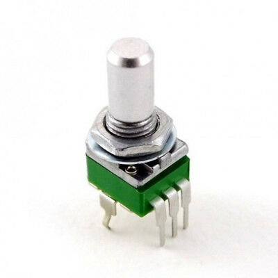 9mm PC MOUNT Alpha Potentiometer  Variable Resistor: 500K LOG/AUDIO