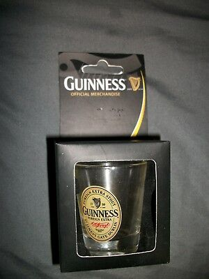 Guinness Extra Stout Dublin Beer Miniature Collectibles With Box 1901 Shot Glass