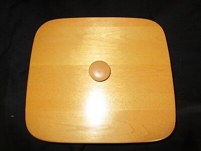 BASKET ACCESSORIES Wood Lid for Longaberger Small Storage Solutions Basket