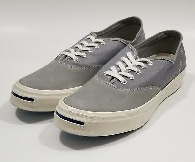 c3c73d6f4c28 Converse Mens Jack Purcell JP Signature CVO OX Dolphin Grey Shoes Size 11
