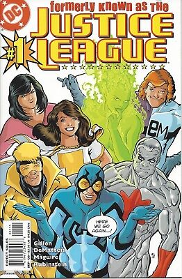 Formerly Known as the Justice League #1. With Mary Marvel! Sep 2003. DC. VF/NM.