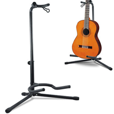 Tripod Adjustable Telescopic Stand Folding Guitar Acoustic/electric/bass