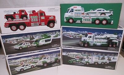 Hess Truck Collection, Lot of 6 Vehicles 2011-2016 Original Boxes. MIB