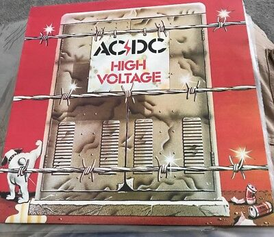 AC/DC High Voltage LP APLP.009 Aus Pressing Lovely Condition Vinyl LP