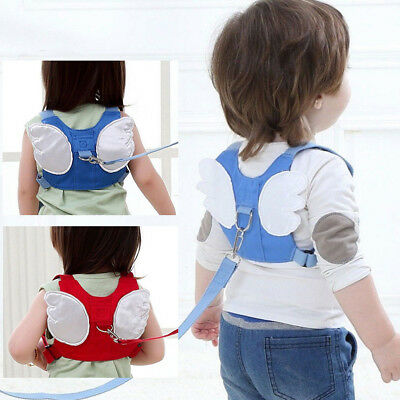 AU Baby Child Toddler Safety Harness Walking Strap Anti Prevent Lost Safe Belt