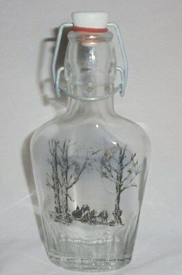 Vintage maple syrup bottle with stopper