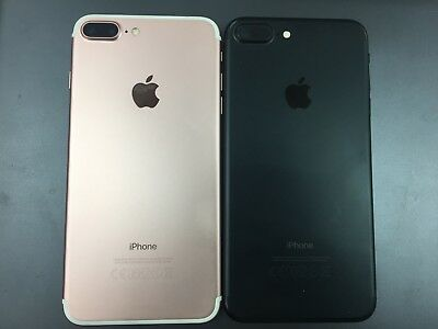 Genuine Apple iPhone 7 Plus Back Housing Cover with Parts B GRADE SOME MARKS