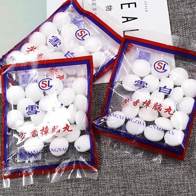 Camphor Ball Insecticide Mildew Insect Repellent Mouldproof Mothproof Home UU