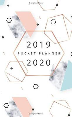 2019-2020 Pocket Planner: 2 Year Diary, Two Year Monthly Planning Calendar, At A