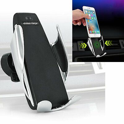 360° Rotante Automatic Clamping Wireless Car Charger Mount Auto Air Vent Holder