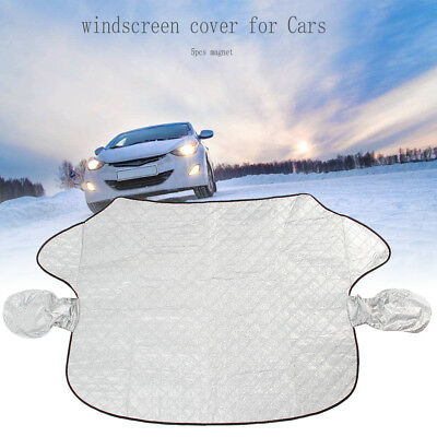 Magnetic Car Windscreen Cover Windshield Protector Sun Shade Frost Snow Shield