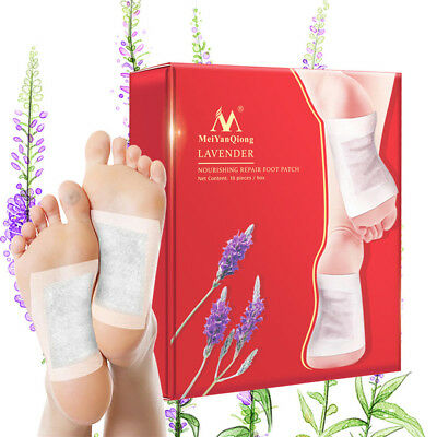 Lavender Foot Patches Pads Detox Nourishing Repair Foot Patch Beauty Health Care