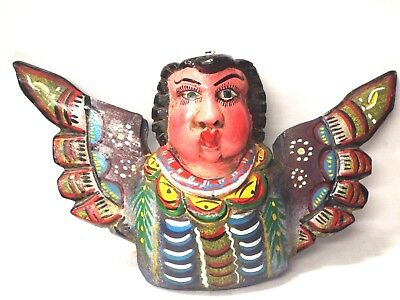 Angel Cherub Cacheton - Mexican Folk Art Guerrero - Wall Decor