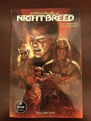 Clive Barker's Nightbreed Volume 1 Loot Crate Fright Edition Variant Cover NEW