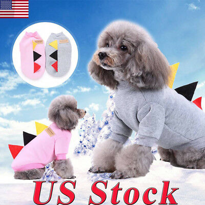 Pet Coat Dogs Triangle Jacket Winter Clothes Puppy Cats Sweater Clothing Coat US