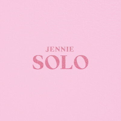 Jennie - Solo (CD+Photobook) Black Pink CD+Booklet Sealed