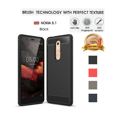 Luxury Ultra Slim Shockproof Silicone protecting Case Cover For Nokia 5.1 3.1 X6