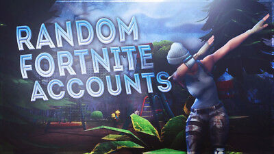 Random fortnite account with 15 legendary skins or more + Save the world