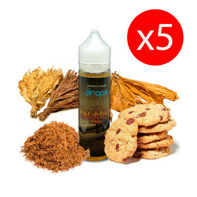 PACKS 5 UNDS E-LIQUID DROPS FAUTO´S DEAL 50 ML (BOOSTER) 00 mg