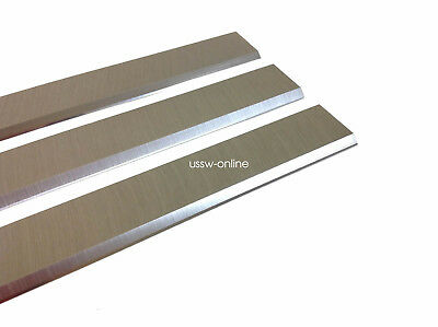 """3PC PLANER Jointer KNIVES 13-1/8"""" for ROCKWELL DELTA  DC-33 RC-33 HSS"""