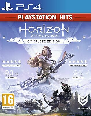 Horizon Zero Dawn Complete Edition HITS (PS4) New & Sealed UK PAL Free UK P&P