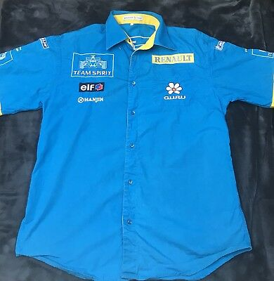 F1, Hemd, Benetton Renault, 2005-2006 WM Saison, F. Alonso, Original Team Hemd