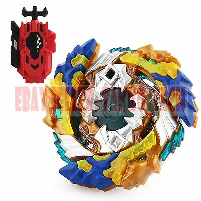 Geist Fafnir .8'.Ab Beyblade BURST B-122+Red String LR Launcher B-88 TOY