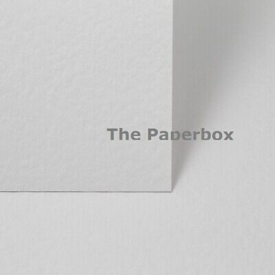 50 X A4 WHITE GESSO HAMMER EFFECT TEXTURED CARD 270GSM CARDSTOCK