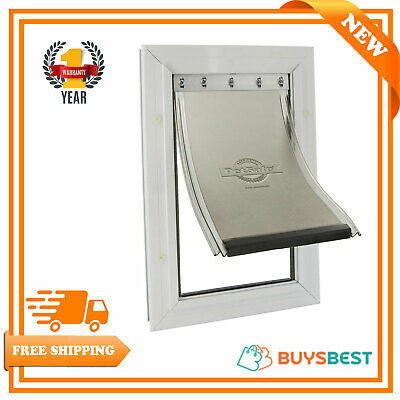 PetSafe Staywell Aluminium Pet Door Flap Energy Efficient Magnetic Locking Large