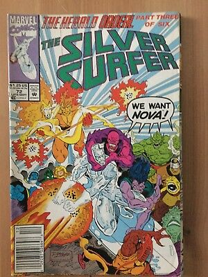 The Silver Surfer #72