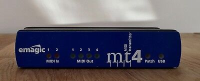 Emagic MT4 USB MIDI Interface