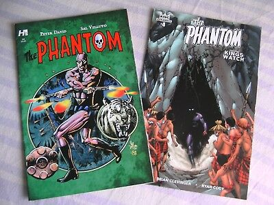 DYNAMITE The Phantom graphic comics lot #4, KING HP #4 NEW Peter David Clevinger