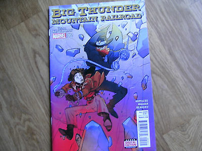MARVEL Big Thunder Mountain Railroad graphic comic iss #2 Jun 2015 NEW! Hopeless