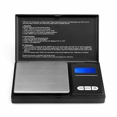 0.1g - 500g Digital Pocket Weighing Weight Mini Scales Gold Kitchen Jewellery