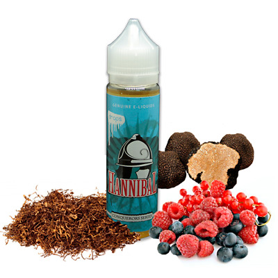 E-LIQUID DROPS HANNIBAL 50 ML (BOOSTER) 00 mg