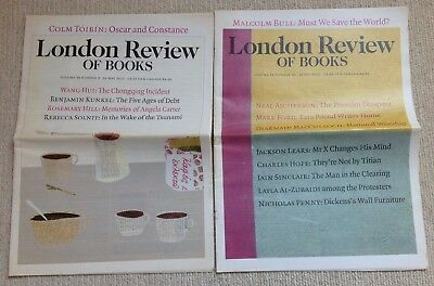 Two Great Issues Of The London Review Of Books: Vol 34 - 2012