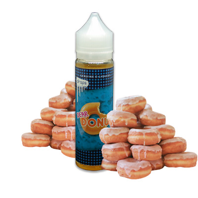 E-LIQUID DROPS DEAR DONUT 50 ML (BOOSTER) 00 mg