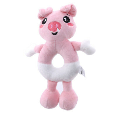 Pig Plush Rattle  Baby Crib Toys Rattle Stuffed Plush Bed Stroller Hanging one