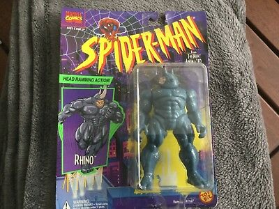 """Spiderman""-Rhino-Toy Biz -MOC"