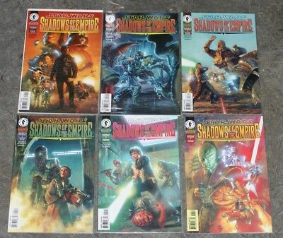Star Wars Dark Horse Shadows of the Empire #1-6 NM Complete Set