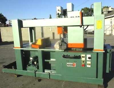 """1990 Trennjaeger Mdl PMC-8 Heavy Duty Ferrous Cold Saw 8 1/2"""" Capacity 26"""" Blade"""