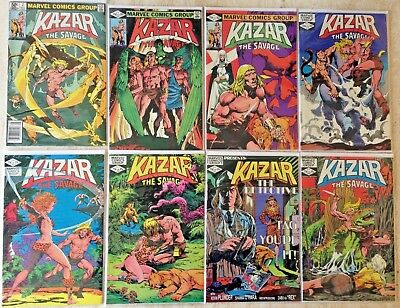 Ka-Zar, The Savage: Lot Of 23 From 1981 Series Plus Issue 1 From 1997 | 24 Total