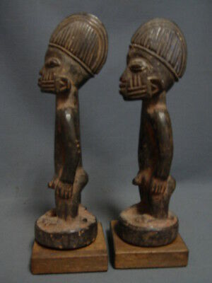 Authentic Oyo Ibeji Male Twins, Yoruba /Nigeria / Santeria