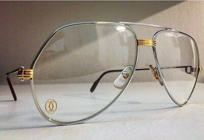 19513f19391d9f LUNETTES CARTIER LOUIS Vendome Platinum (Vintage Frames Glasses ...