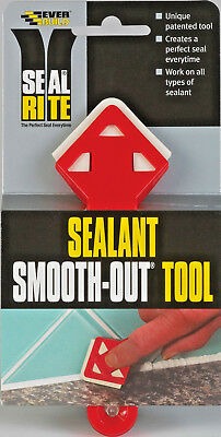Silicone Sealant Smoothing Out Finishing Tool For Sinks Baths Showers Worktops