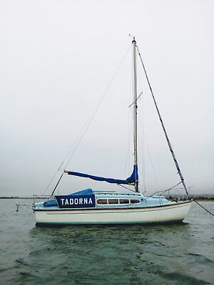 Snapdragon 26 sailing boat - fully equipped and in excellent condition