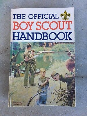 The Official Boy Scout Handbook, 9th Edition 5th Printing, Paperback 1981
