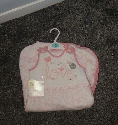 Baby Sleeping Bag Girls AGE 0-6months 1.5togBRAND NEW WITH TAGS
